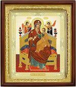 Всецарица Б.М., икона в деревянной рамке (Д-18пс-31)