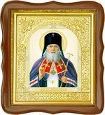 Лука Крымский, средняя аналойная икона, фигурный киот (Д-17фс-37)