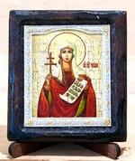 Татьяна Св.Муч., Икона Византикос, полуоклад, 8Х6