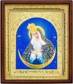 Остробрамская Б.М., икона в деревянной рамке (Д-18пс-46)