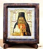 Арсений, архимандрит Святогорский, Икона Византикос, полуоклад, 8Х6