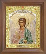 Ангел Хранитель. Икона в деревянной рамке с окладом (Д-26псо-05)
