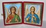Складень бол.карт.(Ангел-Хранитель (поясной), Архангел Гавриил поясной (2)