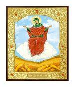 Спорительница хлебов Б.М. Икона в окладе малая (Д-22-57)