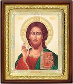 Господь Вседержитель, икона в деревянной рамке (Д-18пс-66)