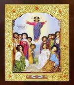 Вознесение Господне. Икона в окладе средняя (Д-21-86)