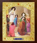 Введение во Храм Пресвятой Богородицы. Икона в окладе средняя (Д-21-88)