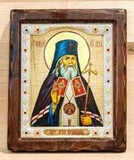 Лука Крымский, Икона Византикос, полуоклад, 12Х14