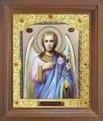 Арх. Гавриил (пояс). Икона в деревянной рамке с окладом (Д-26псо-99)