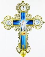 Крест запрестольный металл (03) резной