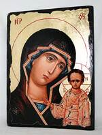 Казанская Б.М., икона синайская, 13 Х 17