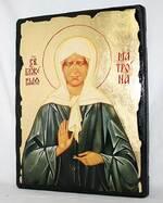 Матрона Московская, икона синайская, 13 Х 17