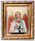 Ангел Хранитель (пояс), икона в багетной рамке 14 Х 16