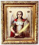 Михаил, Арх. (пояс), Икона в багетной рамке 14 Х 16