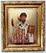 Спиридон Тримифунтский (факел), Икона в багетной рамке 14 Х 16