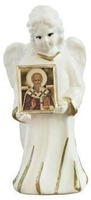 Ангел с иконой Николая Чудотворца