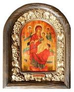 Всецарица Б.М. Икона Иерусалимская арочная