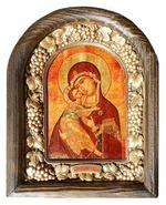 Владимирская Б.М. Икона Иерусалимская арочная
