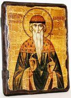 Вадим, Св.Муч, икона под старину, сургуч (13 Х 17)