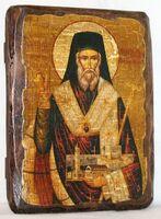 Дионисий Закинфский, икона под старину, сургуч (13 Х 17)