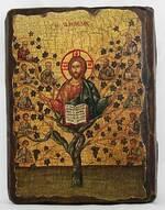 Лоза истинная, икона под старину, сургуч (17 Х 23)