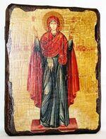 Нерушимая стена Б.М., икона под старину, сургуч (13 Х 17)