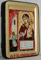 Нечаянная радость Б.М., икона Греческая, 13 Х 17