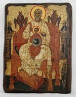 Отечество, икона под старину, сургуч (17 Х 23)