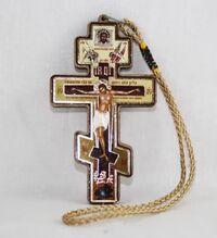 Подвеска автомобильная (16) Крест с распятием