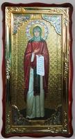 Рахиль, Св. муч., в фигурном киоте, с багетом. Большая Храмовая икона (61 х 112)