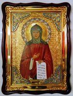 Рахиль, в фигурном киоте, с багетом. Храмовая икона (60 Х 80)