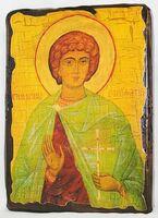Вонифатий, Св.Муч, икона под старину, сургуч (13 Х 17)
