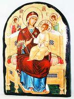 Всецарица Б.М., икона синайская, арка, 17 Х 23
