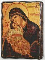 Гликофилуса Б.М., икона под старину, сургуч (17 Х 23)