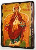 Державная Б.М., икона под старину, сургуч (13 Х 17)