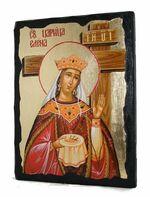 Елена Св.Рн.Ап.Цр. (крест), икона синайская, 13 Х 17