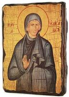 Елисавета, Св.Праведная, икона под старину, сургуч (17 Х 23)