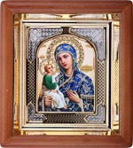 Иерусалимская Б.М., икона аналойная, риза, упаковка, (17 Х 19)