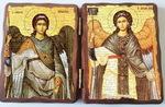 Михаил и Гавриил. Складень под старину 13Х17
