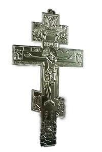 Крест подвесной металлический (192), цвет серебро