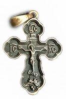 Крест нательный металл (1-30) литой цвет бронза