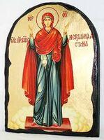 Нерушимая стена Б.М., икона синайская, арка, 17 Х 23