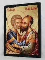 Петр и Павел (пояс), икона синайская, 13 Х 17