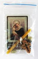 Взыскание погибших Б.М. Набор для домашней молитвы (Zip-Lock). Лик, молитва, свечка, ладан, крестик
