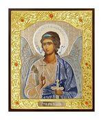 Ангел Хранитель. Икона в окладе малая (Д-22-01)