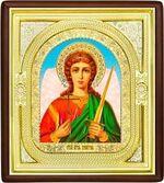 Ангел Хранитель, средняя аналойная икона, риза (Д-1с-02)