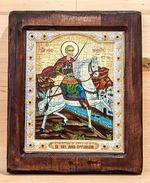 Мина Котланский, Икона Византикос, полуоклад, 12Х14
