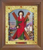 Андрей Первозванный. Икона в деревянной рамке с окладом (Д-26псо-100)
