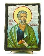 Родион, икона под старину, на дереве (13х17)