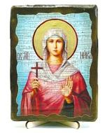 Ника, Св.Муч, икона под старину, на дереве (13х17)
